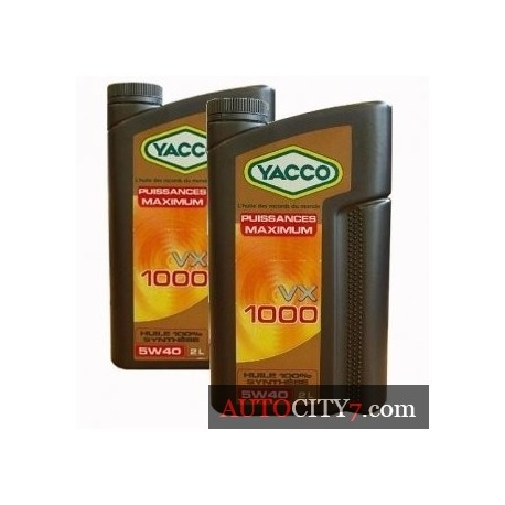 YACCO VX 1000 5W40 1L